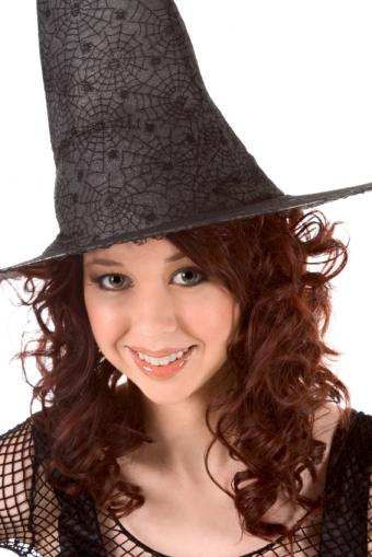 Good witch dressed in black