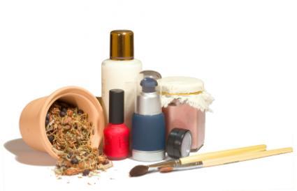 natural makeup items