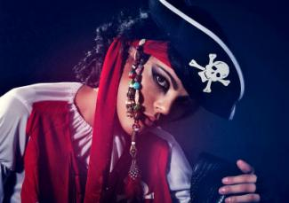 Pirate makeup