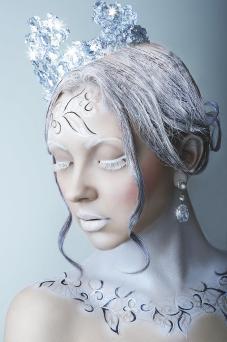 Ice queen girl