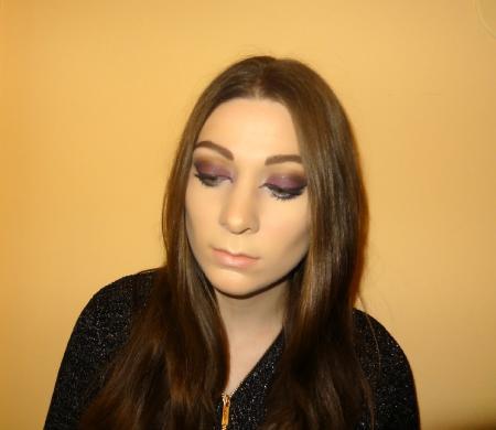 Cheshire Cat Eye Makeup