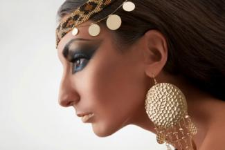 Egyptian eye makeup