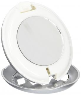 Zadro LED Lighted Flashlight Compact Mirror