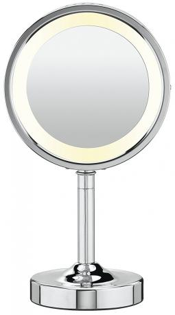 Conair Round Shaped Double-Sided Lighted Makeup Mirror