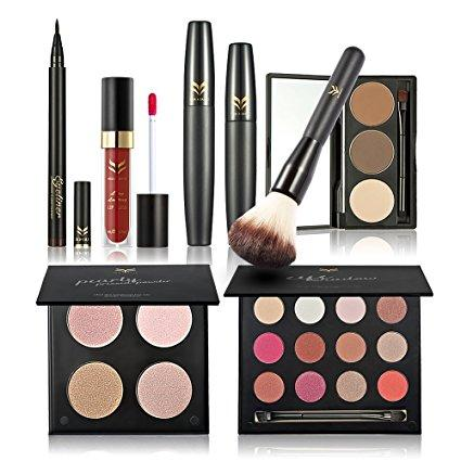 Huamianli 7Pcs Cosmetic Makeup