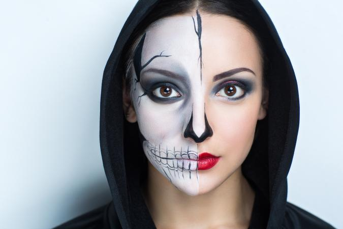 Easy sexy evil witch eye makeup ideas