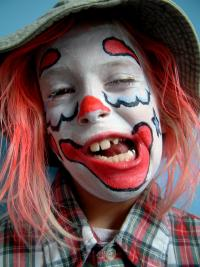 clown kid