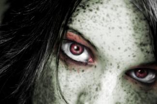 zombie eye makeup