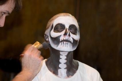 Skeleton Face Painting Lovetoknow