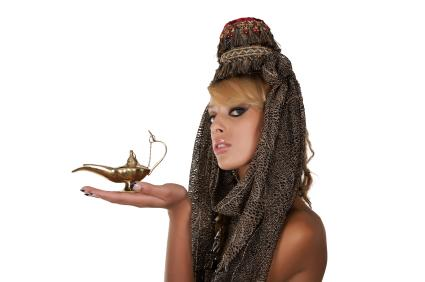 Genie woman