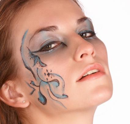 Adult and Kid Fantasy Face Paint Photos | LoveToKnow