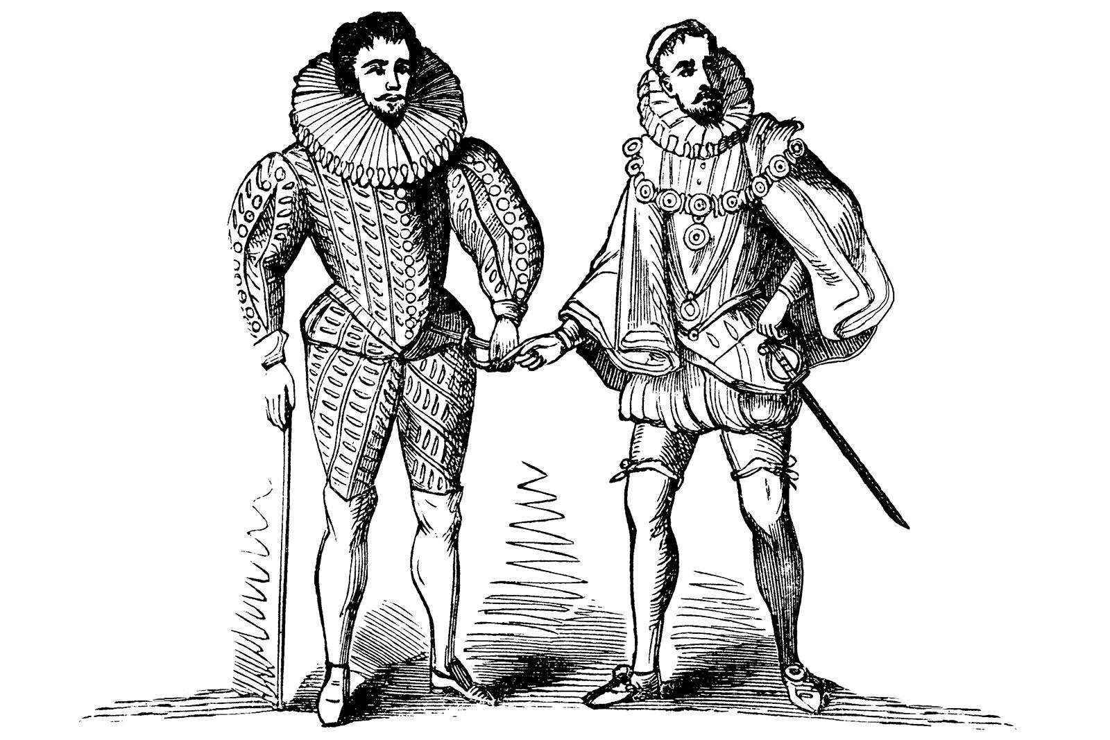 elizabethan fashion for men | lovetoknow