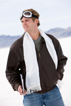 Men's Leather Flight Jackets