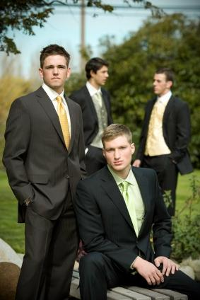 dressy male attire for formal garden party or wedding