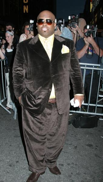 Cee-Lo in hip suit