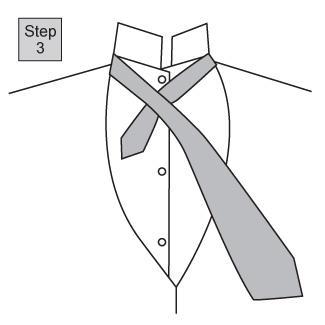 Half Windsor knot 1