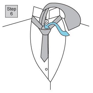 Half Windsor knot 3