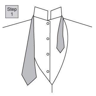 Four in Hand knot 1
