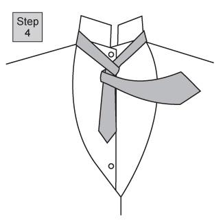 Four in Hand knot 2