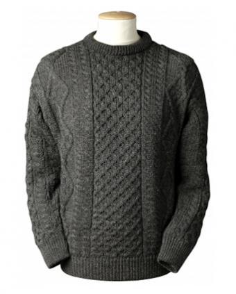 Lightweight Traditional Aran Wool Sweater from Aran Sweater Market