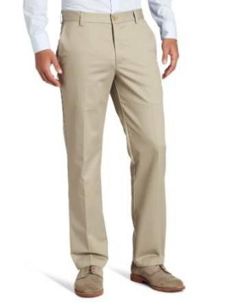 IZOD American Chino Flat Front Slim Fit Pant at Amazon.com