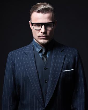 Men in Suits and Ties