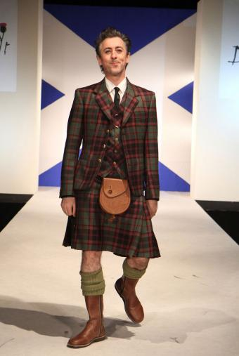 Alan Cumming Attending 8th Annual 'Dressed to Kilt' Charity Fashion Show
