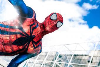 Mens Spiderman Lounge Wear