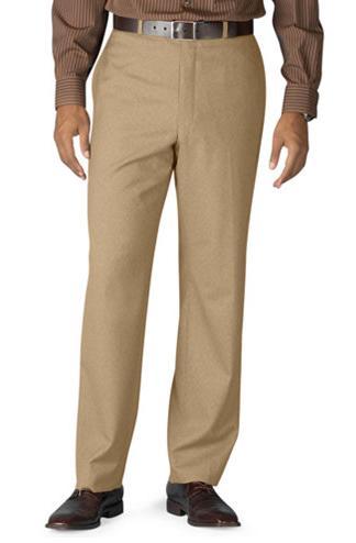 Flat Front Dress Pants