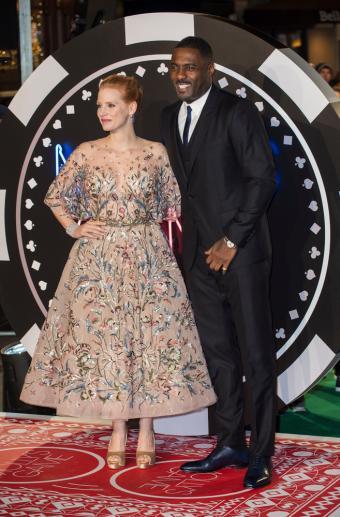 Idris Elba and Jessica Chastain