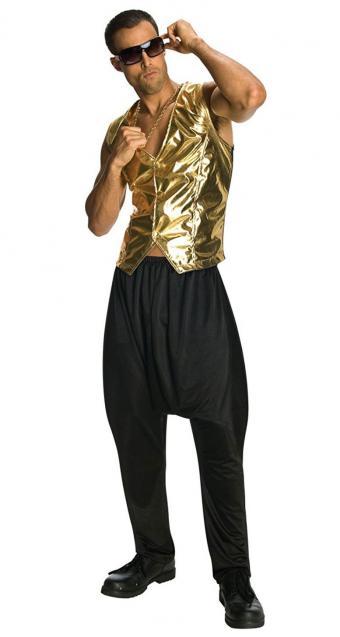 Black MC Hammer Pants
