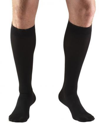 Truform 8845 Black Compression Stockings