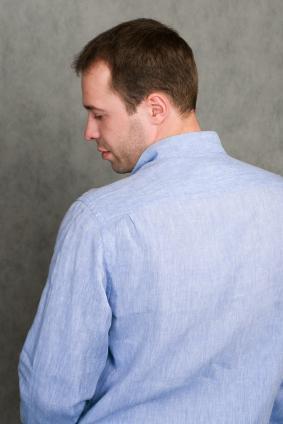 Men's Cotton Banded Collar Pullover Shirt