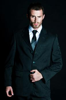 Look the part in a crisp suit!