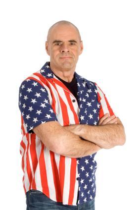 Mens Patriotic Sports Shirts