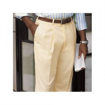 Italian Cotton yellow trousers