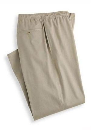 SmartValue Full Elastic Pants at Blair.com