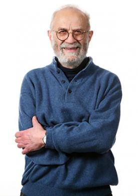 Senior man wearing pullover sweater
