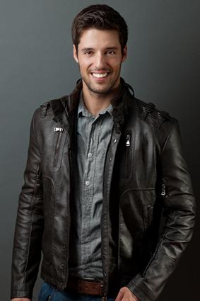 The classic brown leather jacket.