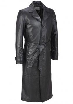 Wilsons Classic Leather Trench Coat