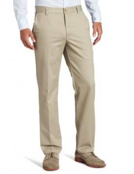 IZOD American Chino Flat Front Slim Fit Pant at Amazon.com