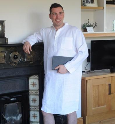 Irish Linen Nightshirt