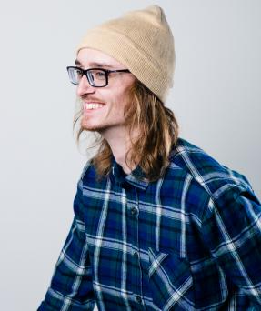 90s style flannel shirt