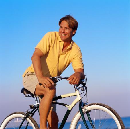 Khaki shorts and polo shirt