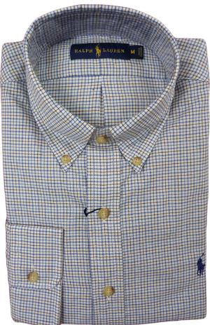 Men Classic Fit Plaid Shirt at Amazon