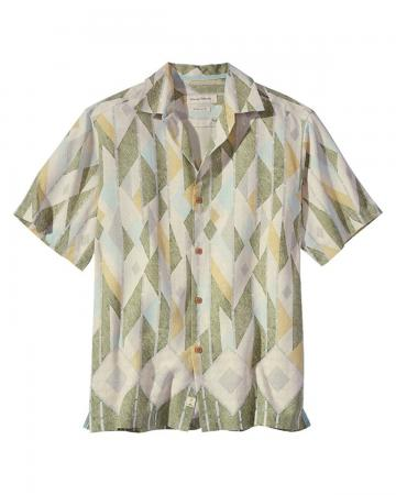 Tommy Bahama Men's Bayamo Geo Camp Shirt