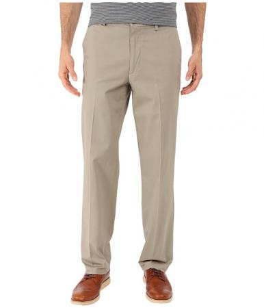 Dockers Men's Signature Khaki D2 Straight Fit Flat Front