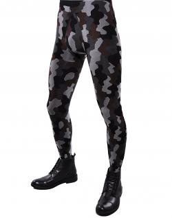 Men's Adrian camouflage pattern tights