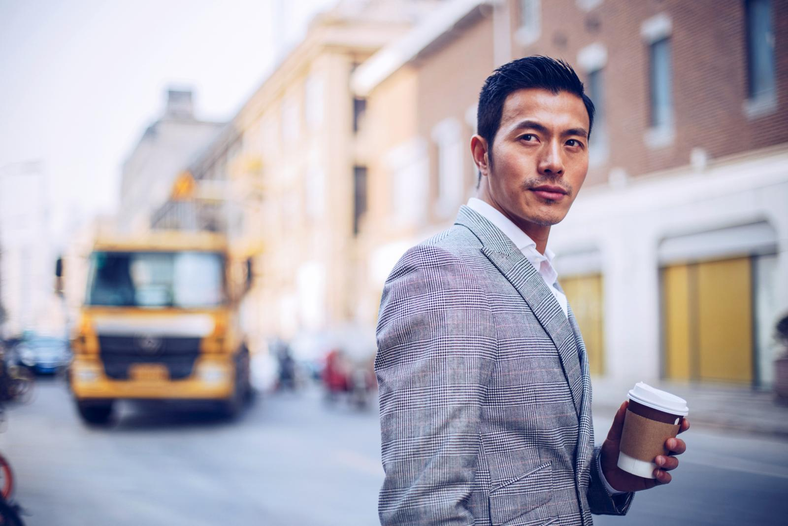 Gentleman on the street