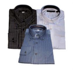 Image of three men's shirts